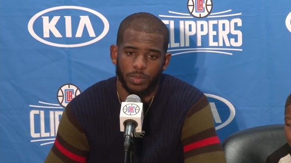 Postgame Press Conference: Chris Paul – 11/29/15