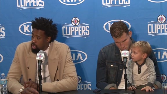 Postgame Press Conference: DeAndre Jordan & Blake Griffin – 11/29/15