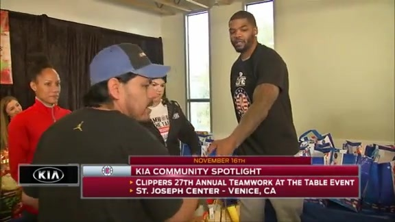 Kia Community Spotlight - Teamwork At The Table Event