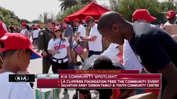 Kia Community Spotlight - Feed The Community Event