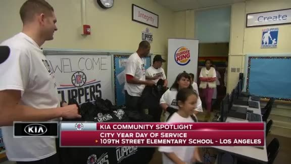 Kia Community Spotlight - City Year Day of Service