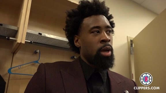Postgame Press Conference: DeAndre Jordan - 1/22/16