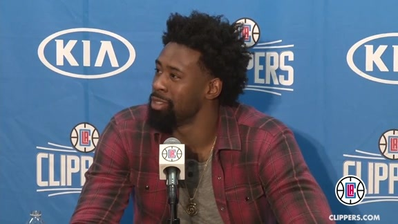 Postgame Press Conference: DeAndre Jordan – 1/31/16