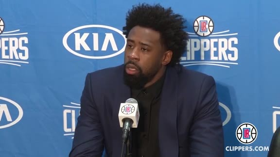Postgame Press Conference: DeAndre Jordan and Jamal Crawford - 2/03/16