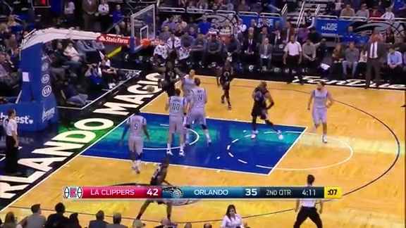 Clippers vs Magic First Half Highlights - 2/5/16