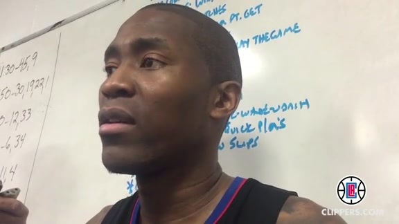 Postgame Press Conference: Jamal Crawford - 2/7/16