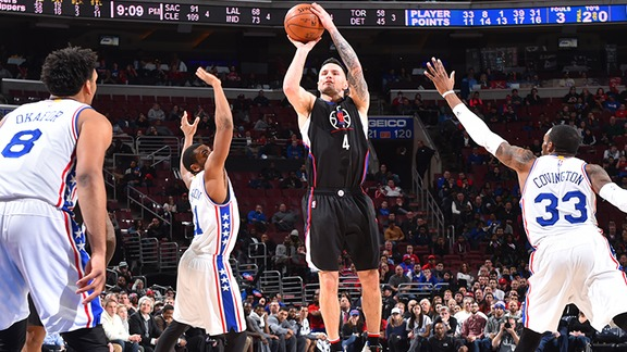 Clippers vs 76ers Full Highlights - 2/8/16