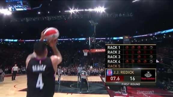 J.J. Redick Three-Point Contest