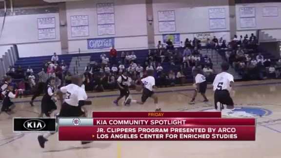 Kia Community Spotlight - Junior Clippers Tip-Off