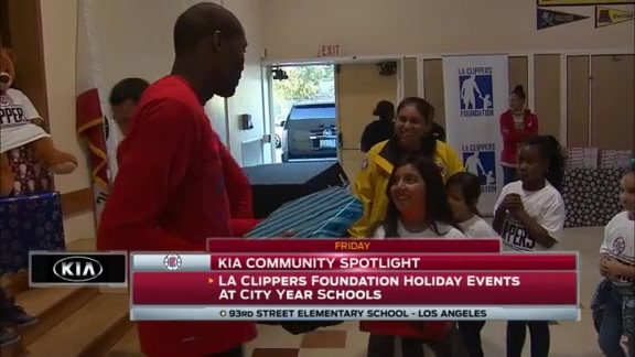 Kia Community Spotlight - City Year Schools Holiday Event