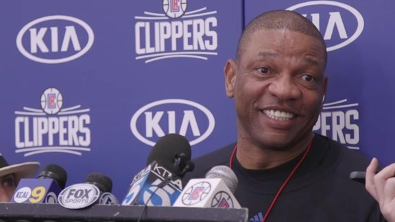 2016 Playoffs Practice: Doc Rivers - 4/21/16