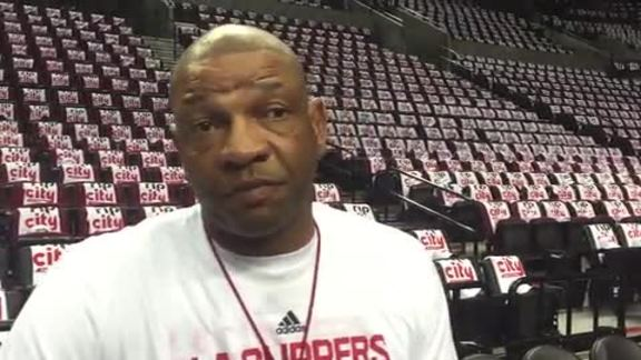 2016 Playoffs Practice: Doc Rivers - 4/23/16