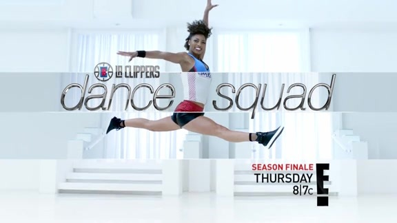LA Clippers Dance Squad Season Finale on Thursday