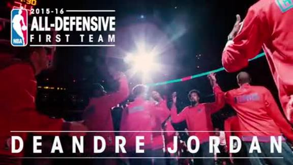 DeAndre Jordan: 2015-16 NBA All-Defensive First Team - 5/26/16