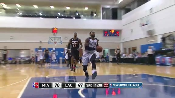 Branden Dawson Highlights - Miami vs Clippers | Summer League - 7/2/16