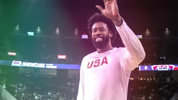 DeAndre Jordan On Playing In Front of Clippers Fans With Team USA - 7/24/16