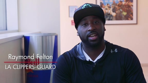 Raymond Felton's message to Clipper Nation - 7/25/16