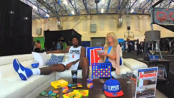 2016 Media Day: Jerome's Digital Lounge with DeAndre Jordan - 9/26/16