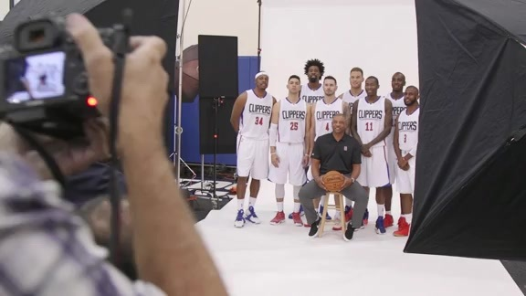 Behind the Scenes: 2016 Clippers Media Day - 9/28/16