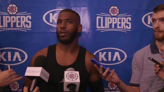 2016-17 Training Camp: Chris Paul - 9/28/16