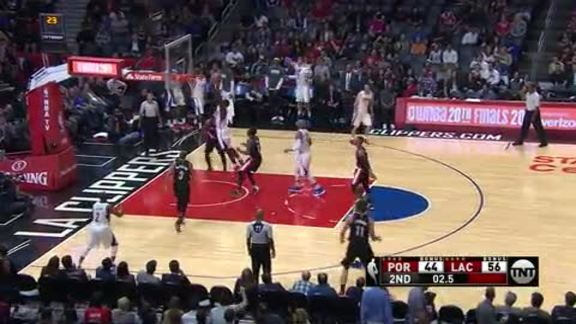 Clippers vs Trail Blazers Dunk Highlights | 10/13/16