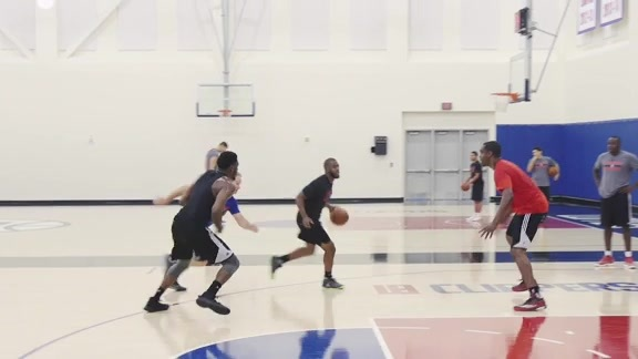 Practice Recap: Jamal Crawford, Chris Paul, Doc Rivers | 10/26/16
