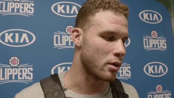 Post Game Interview - Blake Griffin 10/03/17