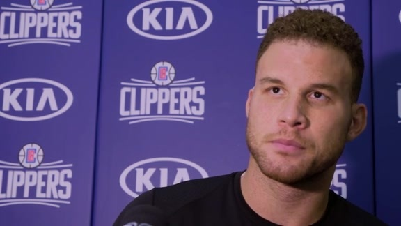 Practice Chat: Blake Griffin | 10/23/17