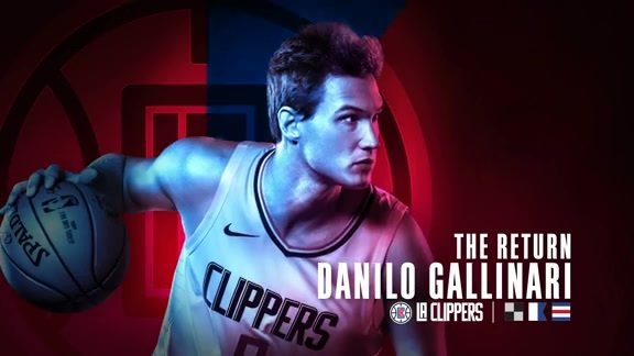Gallinari Returns to Action
