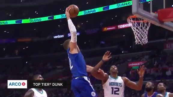 Blake Griffin started the NYE party early, finished with 25 pts
