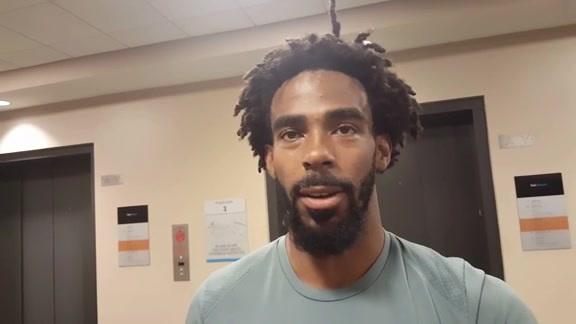 Mike Conley shares thoughts on new locker room upgrades