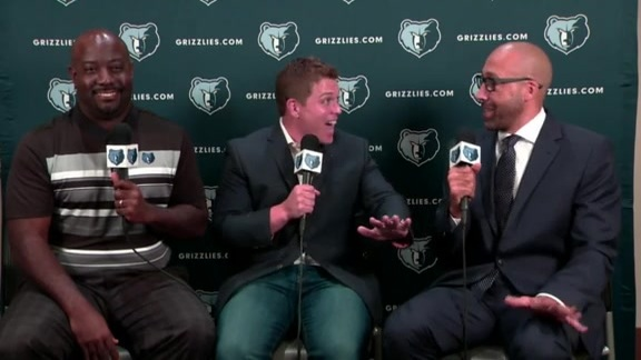 2017 Grizzlies Media Day: Coach Fizdale
