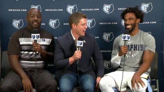 2017 Grizzlies Media Day: Mike Conley