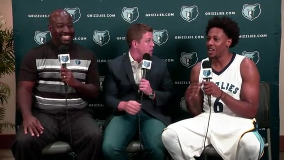 2017 Grizzlies Media Day: Mario Chalmers