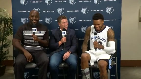 2017 Grizzlies Media Day: Ben McLemore