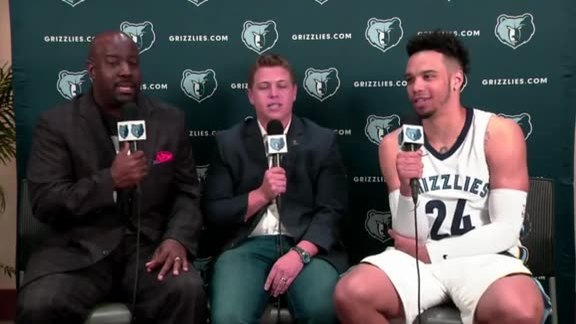 2017 Grizzlies Media Day: Dillion Brooks