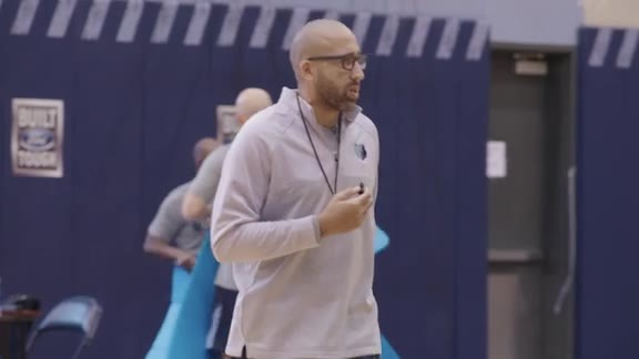 Wired: Coach Fizdale at training camp