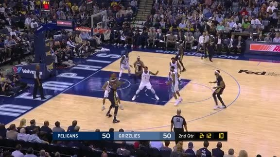 Conley swipes a pass