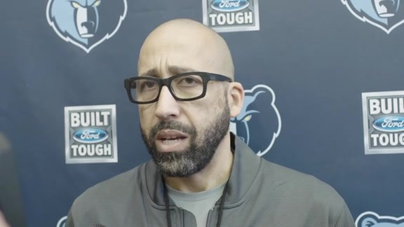 MEMvGSW: Coach Fizdale media availability 10.20.17