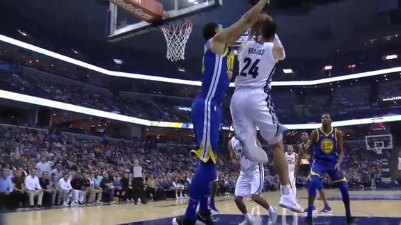 Brooks shows off his athleticism