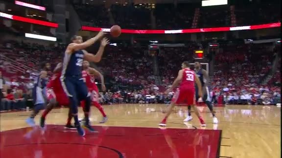 Gasol leads Grizz past Rockets with 26 points