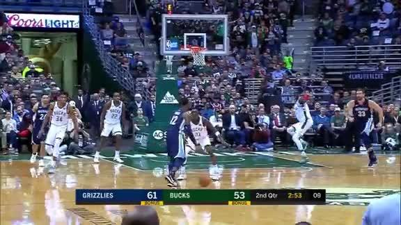 Tyreke carries the Grizzlies in Milwaukee