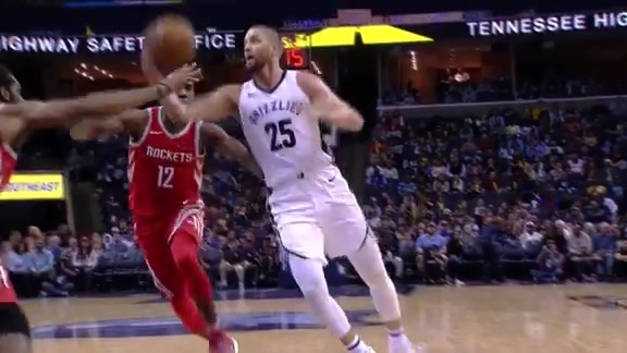 Parsons drops 17 against Rockets