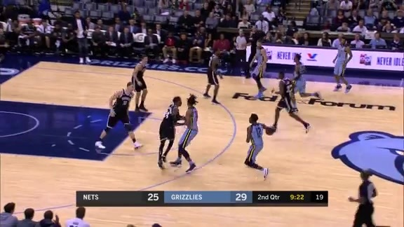 Evans drops 18 off the bench on Nets