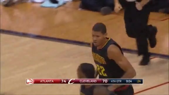 Tavares Throws Down Huge Dunks In Debut