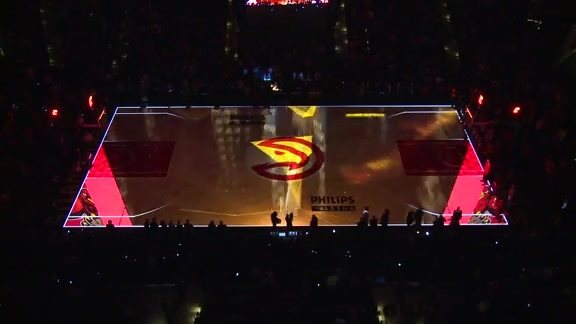 Spectacular Mutombo-Themed Court Projection