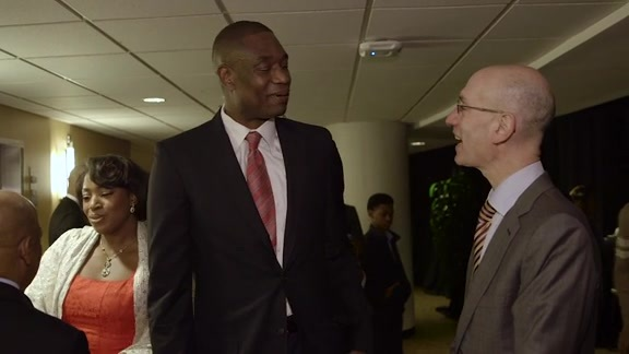 Commissioner Silver Praises Dikembe