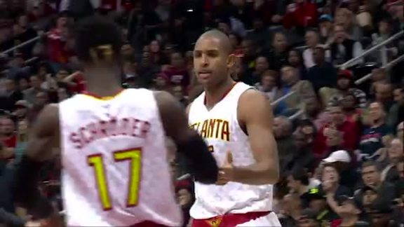 Horford Sets Season High Against Bulls