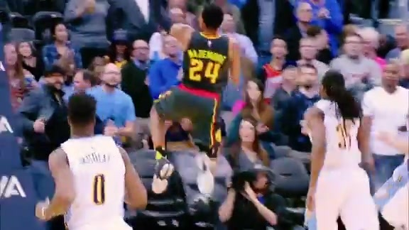 Steal Of The Week: Bazemore Swipes Opening Possession