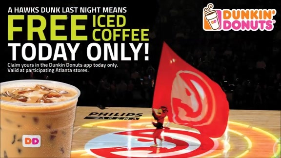 Teague-Horford Alley-Oops Mean Free Iced Coffee